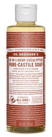 Dr.Bronners Castile Liquid Soap Eucalyptus (8 oz)