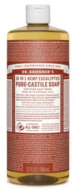 Dr.Bronners Castile Liquid Soap Eucalyptus (32 oz)