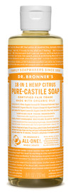 Dr.Bronners Castile Liquid Soap Citrus (8 oz)