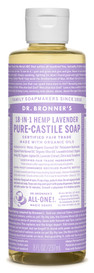 Dr.Bronners Castile Liquid Soap Lavender (8 oz)
