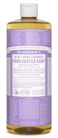 Dr.Bronners Castile Liquid Soap Lavender (32 oz)