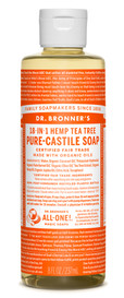 Dr.Bronners Castile Liquid Soap Tea Tree (8 oz)