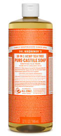 Dr.Bronners Castile Liquid Soap Tea Tree (32 oz)