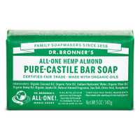 Dr.Bronners Castile Bar Soap Almond (140 g)