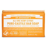 Dr.Bronners Castile Bar Soap Citrus (140 g)