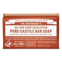 Dr.Bronners Castile Bar Soap Eucalyptus (140 g)