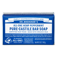 Dr.Bronners Castile Bar Soap Peppermint (140 g)