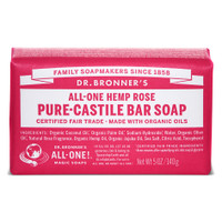 Dr.Bronners Castile Bar Soap Rose (140 g)