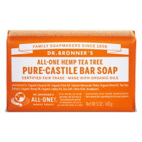 Dr.Bronners Castile Bar Soap Tea Tree (140 g)