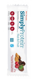 Simply Protein Nut & Fruit Dark Chocolate Cherry Almond (12 x 37g bars)