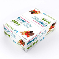 Simply Protein Nut & Fruit Dark Chocolate Peanut Butter Strawberry (12 x 37g bars)