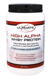 Ultimate High Alpha Whey Protein Unflavoured (750 g)