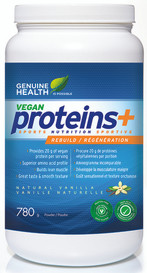 Genuine Health Vegan proteins+ Vanilla (780 g)