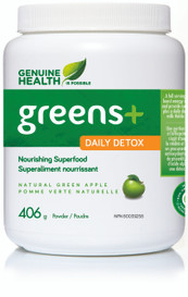 Genuine Health Greens+ Daily Detox Green Apple (406 g)