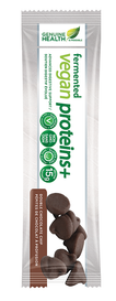 Genuine Health Fermented Vegan Proteins+ Double Chocolate Chip Bars (12 x 55 g)