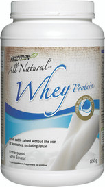 Precision All Natural Whey Protein Unflavoured (850 g)