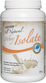 Precision All Natural Whey Isolate Unflavoured (850 g)