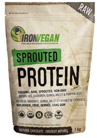 Iron Vegan Sprouted Protein Chocolate (1 kg)