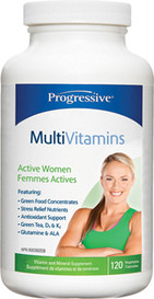 Progressive MultiVitamins for Active Women (120 veg caps)