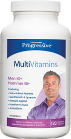 Progressive MultiVitamins for Men 50 and over (120 veg caps)