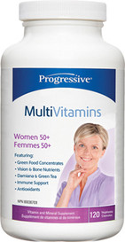 Progressive MultiVitamins for Women 50 and over (120 veg caps)