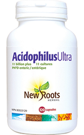 New Roots Acidophilus Ultra (120 caps)