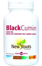 New Roots Black Cumin Seed Oil (120 softgels)