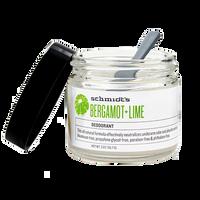 Schmidt's Deodorant Jar Bergamot Lime (2 oz.)
