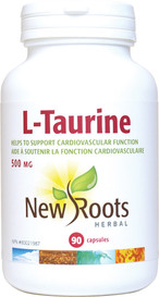 New Roots L-Taurine 500mg (90 caps)