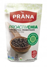 Prana Ground Black ProactivChia Seeds (200 g)