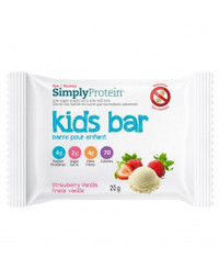 Simply Protein Kids Bar Strawberry Vanilla (12 x 20g bars)