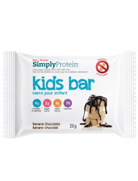 Simply Protein Kids Bar Banana Chocolate (12 x 20g bars)