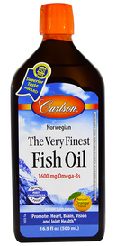 Carlson The Very Finest Fish Oil Orange (500 mL)