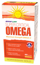 Renew Life NG Super Critical Omega (60 caps)