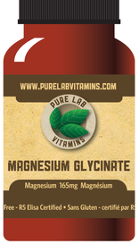 Pure Lab Vitamins Magnesium Glycinate (120 veg caps)