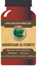 Pure Lab Vitamins Magnesium Glycinate (300 veg caps)