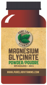 Pure Lab Vitamins Magnesium Glycinate (200 g)