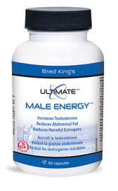 Brad King's Ultimate Male Energy (60 caps)