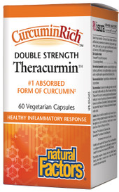 Natural Factors CurcuminRich Theracurmin Double Strength (60 veg caps)