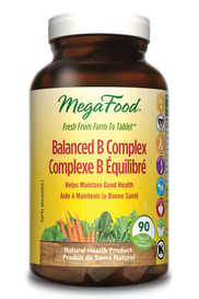 Mega Food Balanced B Complex (90 tabs)