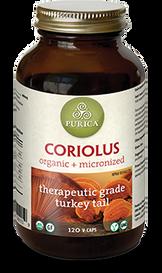 Purica Coriolus (120 veg caps)