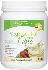 Progressive VegEssential All in One Vanilla (360 g)