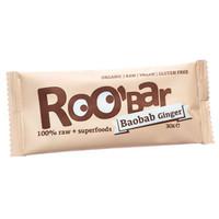 RooBar Organic Baobab & Ginger (16 x 50g)