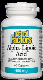 Natural Factors Alpha-Lipoic Acid 400 mg (60 caps)