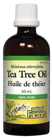 Natural Factors Tea Tree Oil (50 mL)