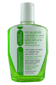 DermaMed Acne Wash with Green Tea Extract (240 mL)
