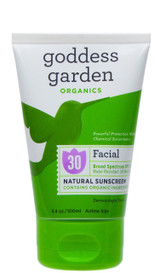 Goddess Garden Facial Sunscreen SPF 30 (105 mL)