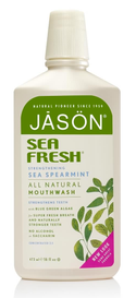 Jason Sea Fresh Spearmint Mouthwash (473 mL)