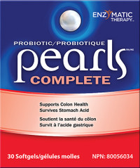 Enzymatic Therapy Probiotic Pearls Complete (30 caps)