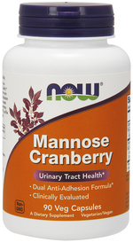 NOW Mannose Cranberry (90 veg caps)